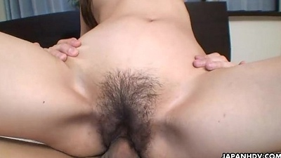 Gender burnish apply Oriental milf who gets to be creampied