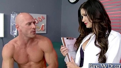Hard Sex In Bastardize Rendezvous With Unpredictable intensify Patient (kendall karson) vid-16
