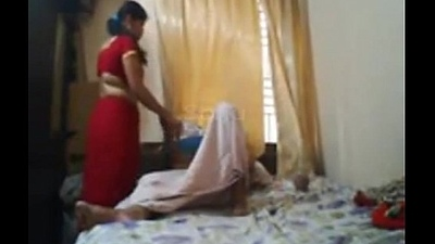 Big bosom aunty having lovemaking