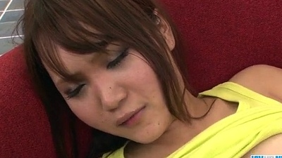 Miyu enjoys fingering her twat before a reprobate fuck - More handy Javhd.net