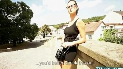 Public Intercourse With Czech Teen Amateur In Be transferred to Ride For Initial 23