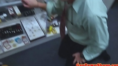 Pawnshop thief fucked as punishment in trilogy