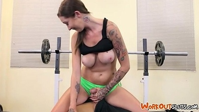 Fucking For Gym Memberships - Callie - TheRealWorkout