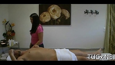 Massage room exposes coitus scene