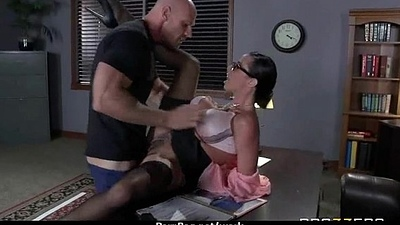 Busty Babe Having it away Her Boss In Be transferred to Office 4