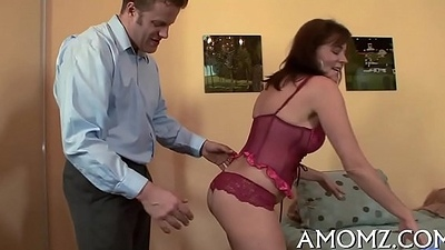 Intercourse addicted mommy forth a hot action
