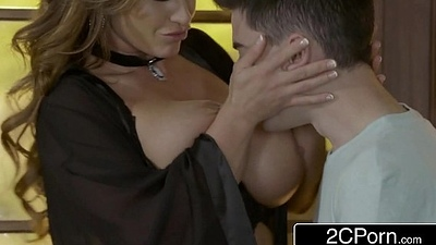 Scoundrel Jordi Copulates Busty Married Eva Notty Behind Her Husband'_s Back
