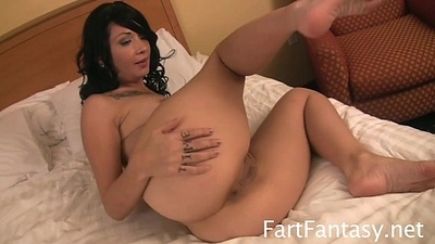 Tatted Hotty Coco Velvett Bare Backdoor Farting