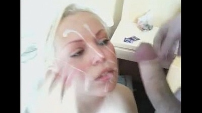 Young Gals Covered With Cum