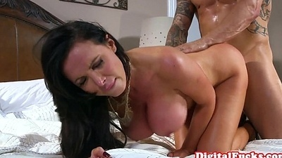 Spectacular doggystyled milf receives it deep