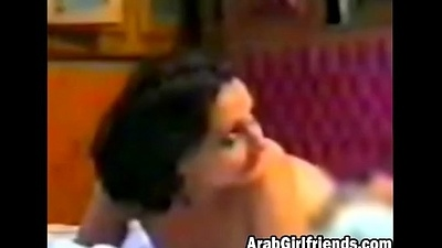 Arab girl filmed chiefly cam when having her pussy pumped hard