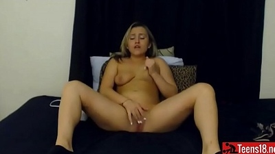 New Blonde Teen on Cam