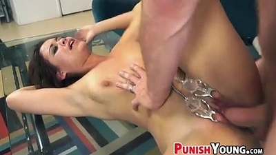 Big White Chief Girlfriend Gets Dominated - Blair Summers